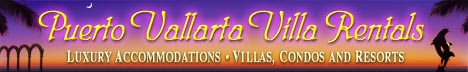 Puerto Vallarta Villa Rentals, your luxury villa, home, condo and resort specialist in Puerto Vallarta and adjacent areas.